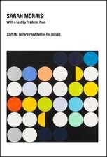 Sarah Morris:  Capital Letters Rear Better for Initials