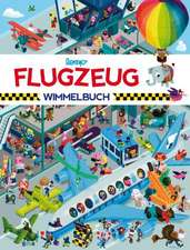 Flugzeug Wimmelbuch