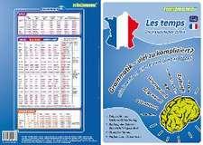 mindmemo Lernfolder - Les temps - Die französischen Zeiten - Zusammenfassung