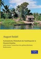 Systematisches Wörterbuch der Suahilisprache in Deutsch-Ostafrika