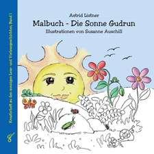 Malbuch - Die Sonne Gudrun