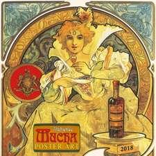 Alphonse Mucha - Poster Art 2018 Miscellaneous