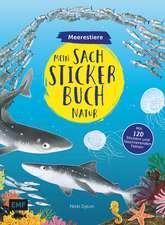 Mein Sach-Stickerbuch Natur - Meerestiere
