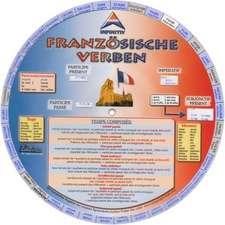 Language Wheels. Französische unregelmäßige Verben