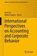 International Perspectives on Accounting and Corporate Behavior