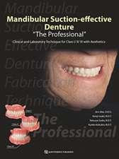 Mandibular Suction-effective Denture