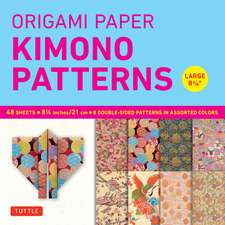 """Origami Paper - Kimono Patterns - Large 8 1/4"""" - 48 Sheets: Tuttle Origami Paper: High-Quality Origami Sheets Printed with 8 Different Designs: Instructions for 6 Projects Included"""