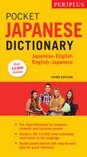 Periplus Pocket Japanese Dictionary : Japanese-English English-Japanese Third Edition