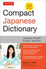 Tuttle Compact Japanese Dictionary: Japanese-English English-Japanese (Ideal for JLPT Exam Prep)