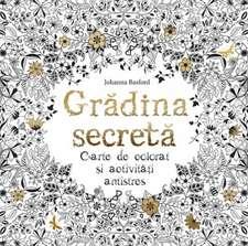 Grădina secretă. Ediție pentru artiști. 20 de desene de colorat și înrămat