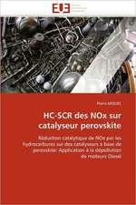 HC-SCR des NOx sur catalyseur perovskite