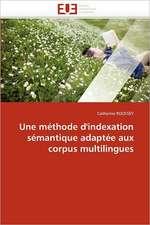 Une méthode d'indexation sémantique adaptée aux corpus multilingues