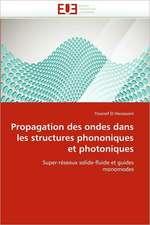 Propagation Des Ondes Dans Les Structures Phononiques Et Photoniques:  Problematique de La Protection Juridique Du Patrimoine Culturel