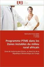 Programme PTME dans les Zones instables du milieu rural africain
