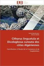 Citharus linguatula et Dicologlossa cuneata des côtes Algériennes