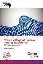 NATIVE VILLAGE OF BARROW INUPI