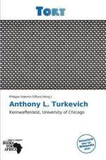ANTHONY L TURKEVICH