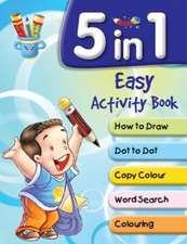 5 in 1 Easy Activity Book