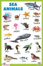 Sea Animals Educational Chart