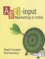 Agri-input Marketing in India