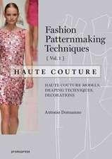 Fashion Patternmaking Techniques  Haute Couture