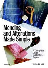 Mending and Alterations Made Simple: A Complete Guide to Clothes Repair