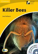 Killer Bees Level 2 Elementary/Lower-intermediate Book with CD-ROM/Audio CD