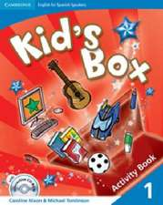 Kid's Box for Spanish Speakers Level 1 Activity Book with CD-ROM and Language Portfolio