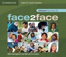 face2face for Spanish Speakers Advanced Class Audio CDs (4)