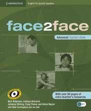 face2face for Spanish Speakers Advanced Teacher's Book
