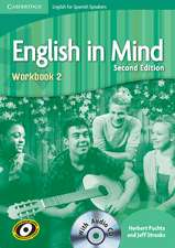 English in Mind for Spanish Speakers Level 2 Workbook with Audio CD