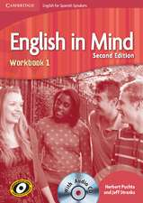 English in Mind for Spanish Speakers Level 1 Workbook with Audio CD