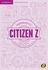 Citizen Z C1 Workbook with Downloadable Audio