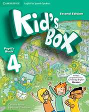 Kid's Box for Spanish Speakers Level 4 Pupil's Book