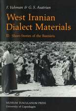 West Iranian Dialect Materials