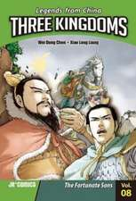 Three Kingdoms Volume 08:  The Fortunate Sons