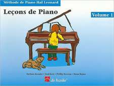 Lecons de Piano, Volume 1
