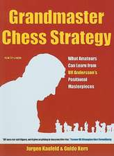 Grandmaster Chess Strategy:  What Amateurs Can Learn from Ulf Andersson's Positional Masterpieces