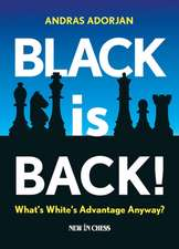 Black Is Back!:  What's White's Advantage Anyway?