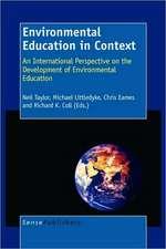 Environmental Education in Context