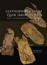 Leatherwork from Qasr Ibrim (Egypt). Part I:  Footwear from the Ottoman Period