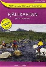 Fjällkartan 1 : 100 000 AC2 Tärnaby - Hemavan - Ammarnäs Bergwanderkarte