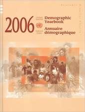 Demographic Yearbook 2006
