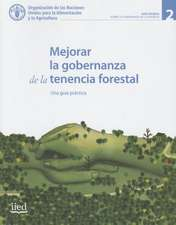 Mejorar La Gobernanza de La Tenencia Forestal