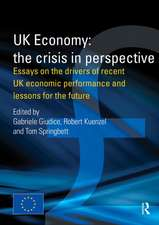 UK Economy:  Essays on the Drivers of Recent UK Economic Performance and Lessons for the Future