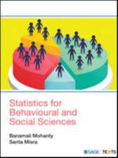 Statistics for Behavioural and Social Sciences