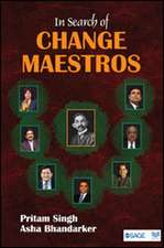 In Search of Change Maestros