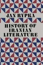 History of Iranian Literature
