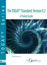 The TOGAF standard, version 9.2 - a pocket guide