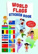 World Flag Sticker Book